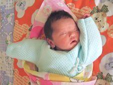 Free Sleeping Baby Stock Photo - 6134180