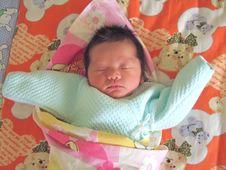 Free Sleeping Baby Royalty Free Stock Photo - 6134355