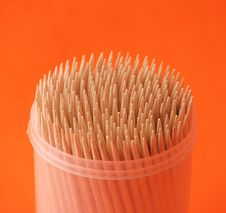 Free Toothpicks Royalty Free Stock Photography - 6134617