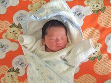 Free Sleeping Baby Royalty Free Stock Photography - 6135177