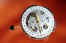 Free Watch Mechanism Royalty Free Stock Photo - 6135515
