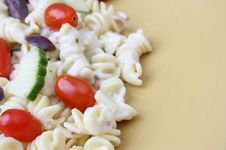 Free Pasta Salad On Plate Royalty Free Stock Photos - 6135538