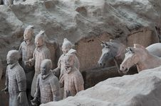Free Terracotta Army Stock Photography - 6135852