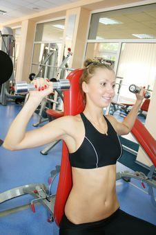 Free Sport Woman Stock Photography - 6135962