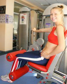Free Sport Woman Stock Photo - 6136160