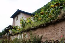 Free Cottage Of The Naxi Nationality Stock Photos - 6136743