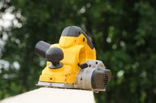 Yellow Planer Stock Images