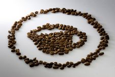 Free Coffee Beans Cup Royalty Free Stock Image - 6137226