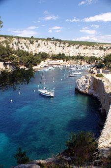 Free Bay With Sailingships, France Royalty Free Stock Photos - 6137878