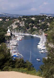 Free Bay With Sailingships, France Stock Photos - 6138003