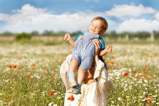 Free Mother And Son Royalty Free Stock Photography - 6138147