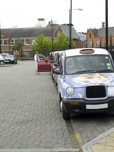 Free Taxi Rank Stock Photo - 6138260