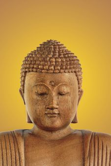 Buddha At Peace Royalty Free Stock Photography