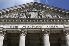 Free Berlin - Deutscher Reichstag Stock Images - 6139184