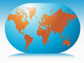 Free World Map Royalty Free Stock Photography - 6143337
