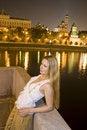 Free Woman Near River3 Stock Photography - 6143862
