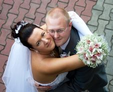 Free Bride And Groom Royalty Free Stock Photo - 6140655