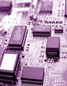 Free Electronic Circuit Board Stock Images - 6140714