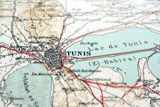 Tunis, Tunisia Stock Images