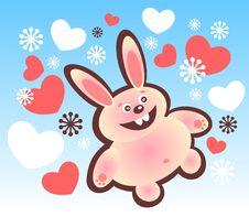 Free Happy Rabbit Stock Photography - 6142922