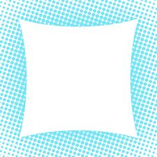 Free Halftone Frame Royalty Free Stock Photography - 6143157