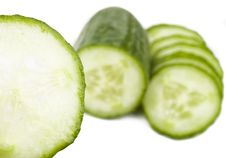 Free Green Cucumber Royalty Free Stock Photography - 6143457