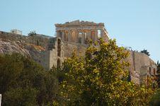Free Parthenon On The Acropolis Royalty Free Stock Photos - 6143748