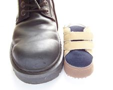 Boot And Shoe Stock Photos