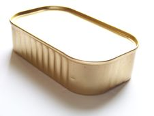 Sardine Tin Royalty Free Stock Photo