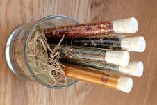 Free Spices In A Glass Royalty Free Stock Images - 6144049