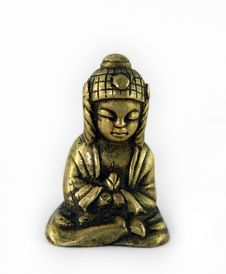 Free Little Buddha Royalty Free Stock Photography - 6144067