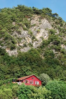 Mountain House Stock Image