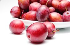 Free Plums Royalty Free Stock Images - 6144719