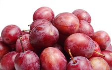 Free Plums Royalty Free Stock Photo - 6144725