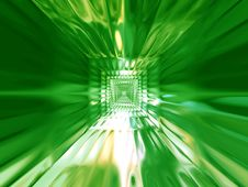 Free Abstract Green Chrome Background Stock Photos - 6144743