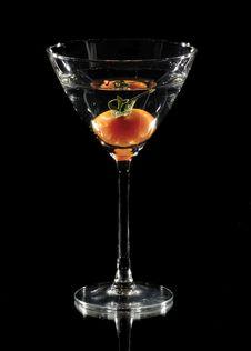 Free Tomato In A Glass Stock Photo - 6144930