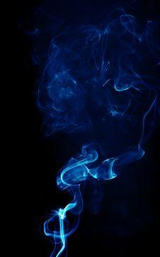 Free Smoke On Black Stock Photography - 6145662