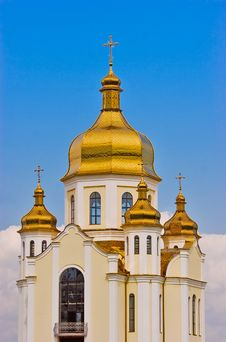 Free Golden Domes Royalty Free Stock Image - 6146216