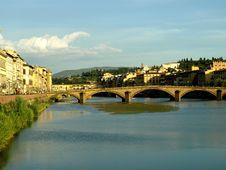 Free Bridge On The Arno River Stock Image - 6146221
