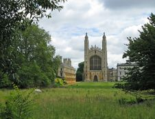 Free King S College Chapel Royalty Free Stock Photography - 6146677
