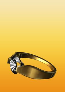 Free Diamond Ring Royalty Free Stock Images - 6147179