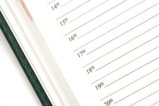 Free Opened Calendar Royalty Free Stock Images - 6147599