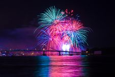 Free Fireworks Show Royalty Free Stock Photo - 6147715