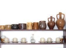 Free Ceramics Background Royalty Free Stock Photos - 6147738