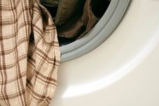 Free Clothes In Washing Machine Stock Photo - 6147810