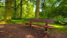 Free Park Bench Royalty Free Stock Photo - 6148005