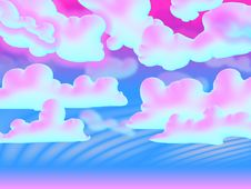 Free Cloudy Psychedelic Vision Stock Photo - 6148750