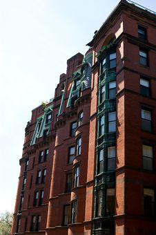 Free Old Boston Brownstone Stock Photos - 6149653