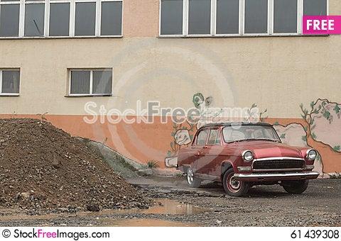 Free Classic Car Royalty Free Stock Photos - 61439308