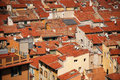 Free Equal Red Tile Roofs, View From Above Stock Photography - 6151792
